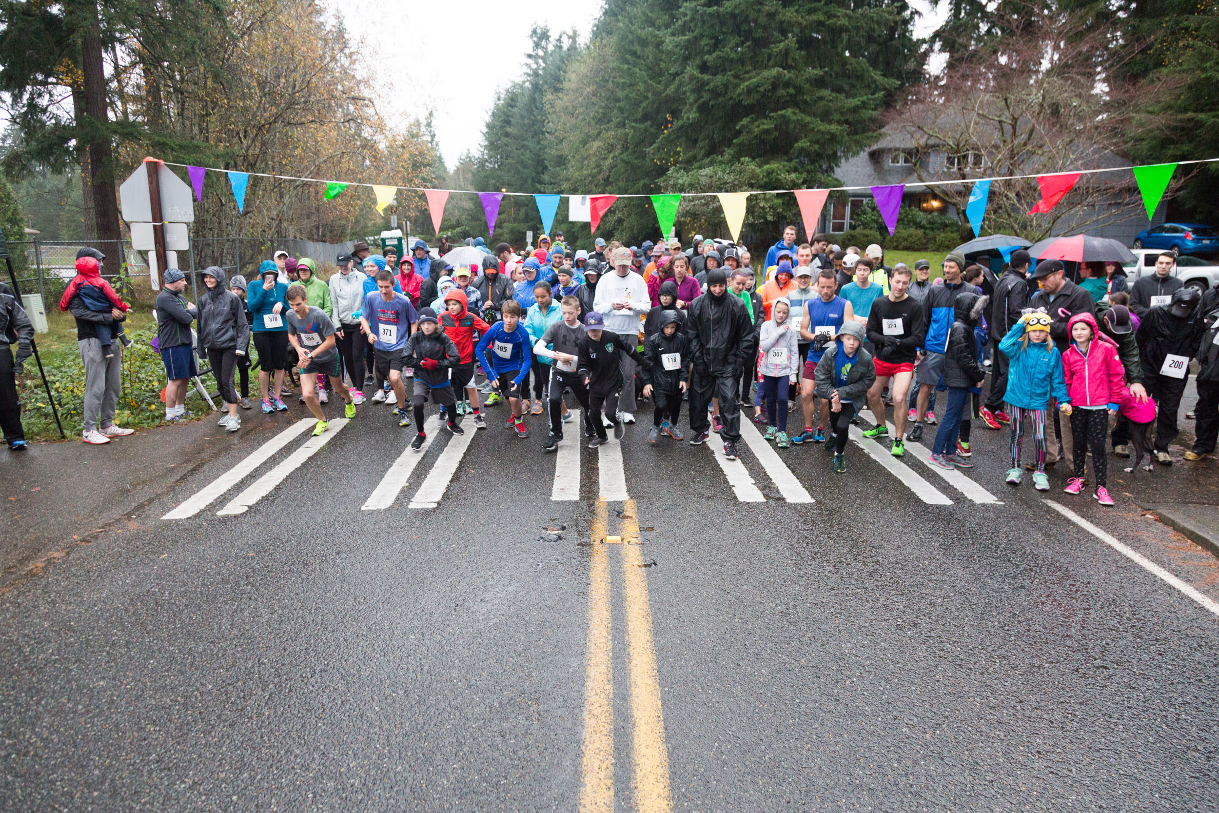 English Hill Turkey Trot 2016-17